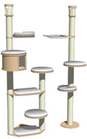 Ceiling-high Posts