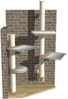Wall-mounted Posts